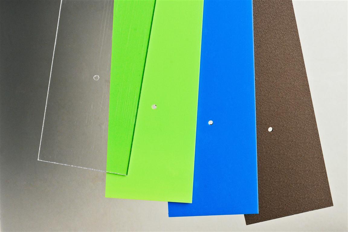 Battisedia Plexiglass Colorato Terminali Antivento Per